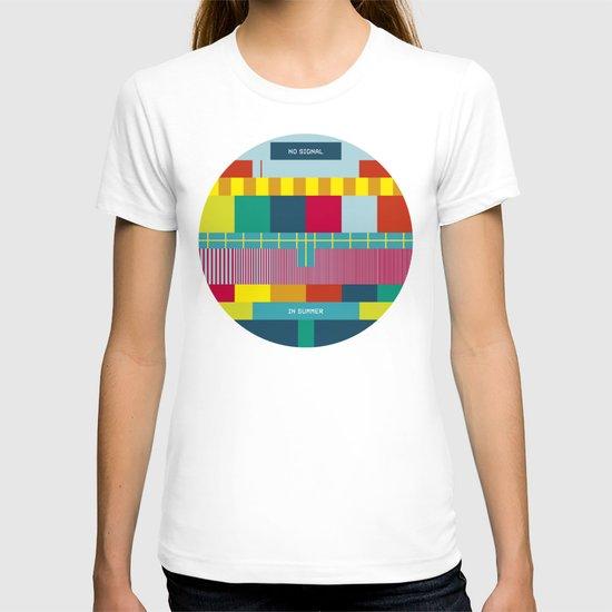 NØ SIGNAℓ T-shirt