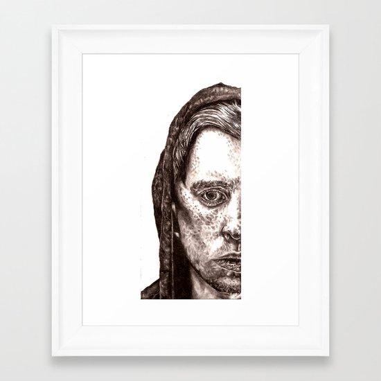 Half Framed Art Print