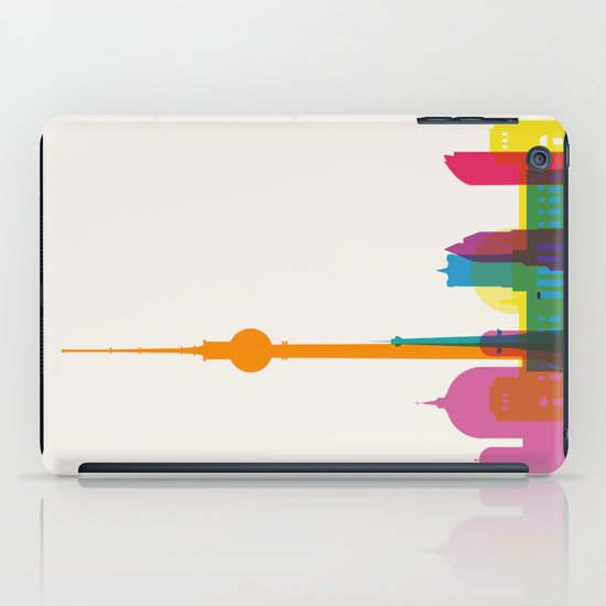 Shapes of Berlin accurate to scale iPad Case