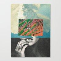 before the rain... Canvas Print
