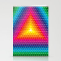 Triangle Of Life Stationery Cards