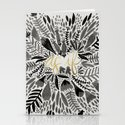 As If – Black & Gold Stationery Cards