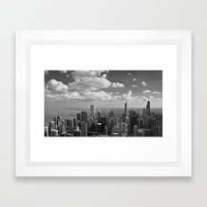 chicago... Framed Art Print
