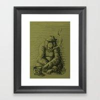 Help The Homeless Framed Art Print