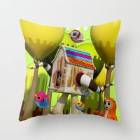 The Fugitive Throw Pillow