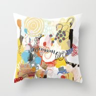 Throw Pillow featuring Thrift Store by Emily Rickard