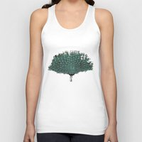 Peacock -blue Unisex Tank Top