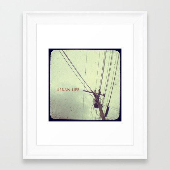 urban life project Framed Art Print