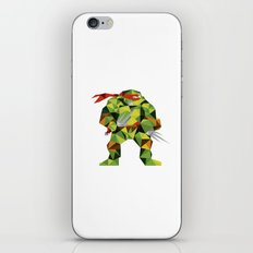 Twin Sai Turtle iPhone & iPod Skin