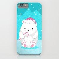 polar bear iPhone & iPod Cases featuring Polar bear by eDrawings38
