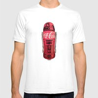 R2 Cola Mens Fitted Tee White SMALL