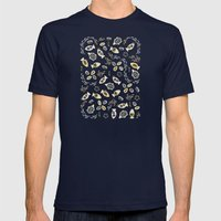 Fish Tales Mens Fitted Tee Navy SMALL