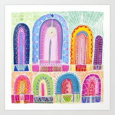 Lordy Dordie Arches Art Print