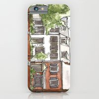 iPhone & iPod Case featuring ROWhouse by ArchiNERD