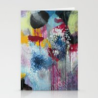 Jellyfishes At The Disco Stationery Cards