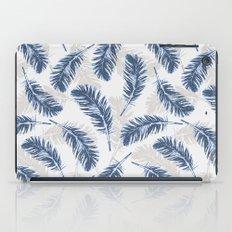 My blue feathers iPad Case