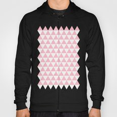 Triangles (Pink/White) Hoody