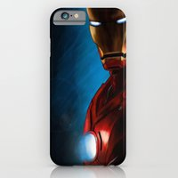 iPhone & iPod Case featuring The Iron Man by Valentina M.