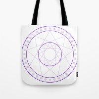 Anime Magic Circle 8 Tote Bag