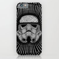 iPhone & iPod Case featuring Trooper Star Circle Wars by Msimioni