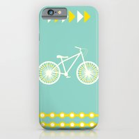 iPhone & iPod Case featuring Saturday Bike Ride by fable design