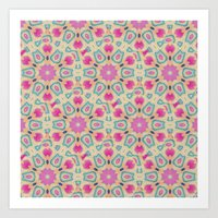 ARABESQUE Art Print