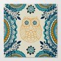 BOHO Owl Canvas Print