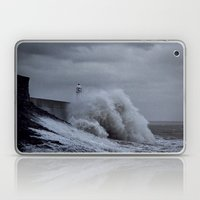 Waves at Porthcawl Laptop & iPad Skin