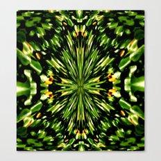Water Lilies Kaleidoscope  Canvas Print