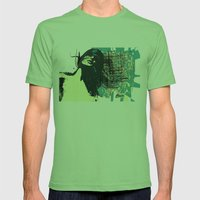 Windy Mens Fitted Tee Grass SMALL