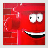 Right Back Canvas Print