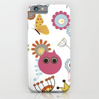 iPhone & iPod Case featuring Owl in Pandora by Simi Design