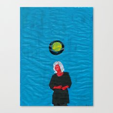 Grip kontanter med begge hender (II) Canvas Print