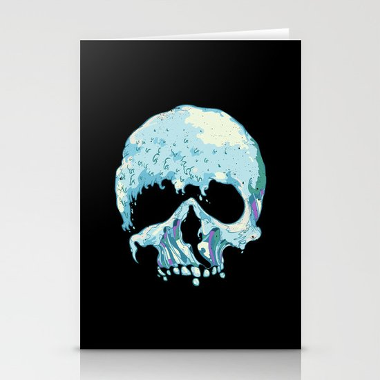 Silent Wave Stationery Card