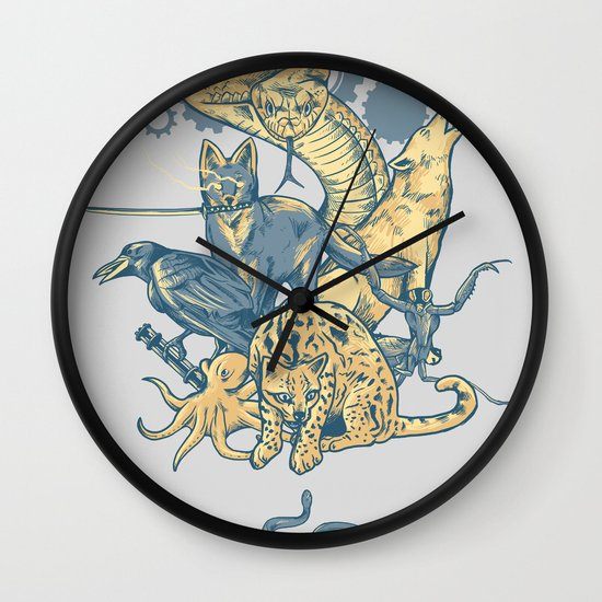 Shadow Moses Wall Clock