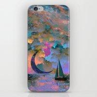 Moonset iPhone & iPod Skin