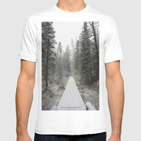 Silverthorne, CO Mens Fitted Tee White SMALL