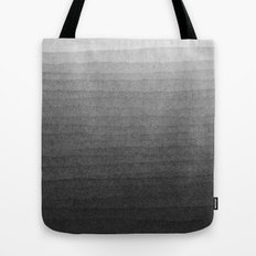 Black and White Ink Gradient  Tote Bag