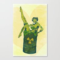Ghoulie Show Canvas Print