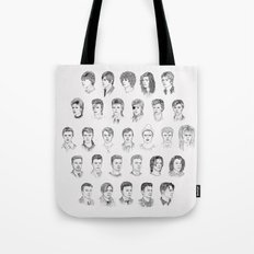 Time May Change Me Tote Bag