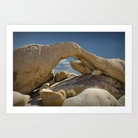 Rock Arch near Joshua Tree No 0294 Art Print