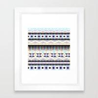 Pattern Play Framed Art Print