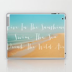 Live The Sunshine Laptop & iPad Skin
