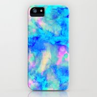 iPhone 5s & iPhone 5 Cases featuring Electrify Ice Blue by Amy Sia
