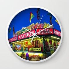 Fair Food Wall Clock