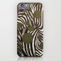 iPhone & iPod Case featuring Zebra Face by Aimee Alexander