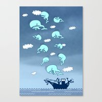 Where Have the Whales Gone? Canvas Print