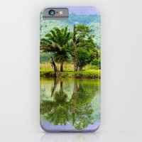 iPhone Cases featuring RIVER MIRROR by Catspaws