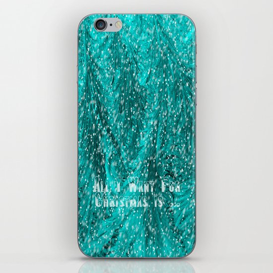 Want for Christmas iPhone & iPod Skin