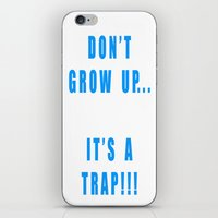 IT'S A TRAP!!! iPhone & iPod Skin